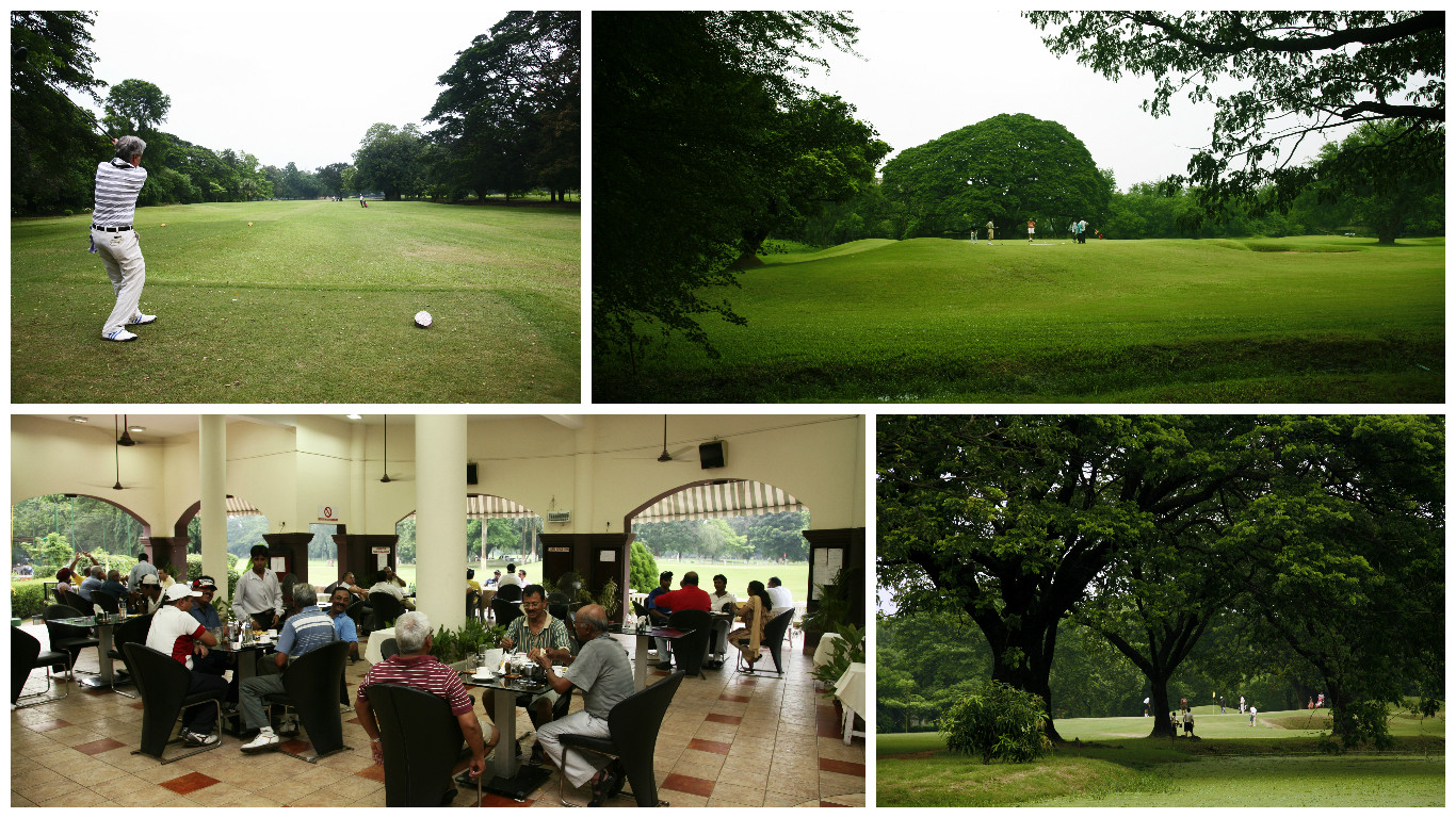 Images from the Royal Calcutta Golf Club